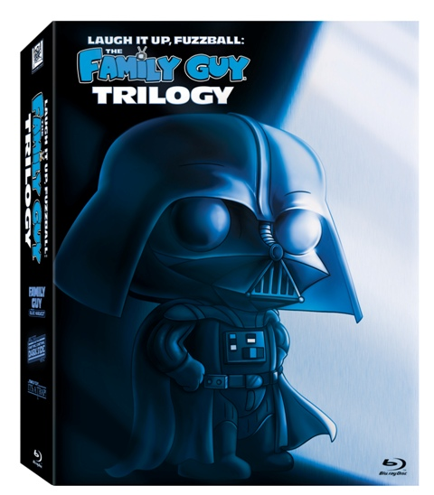 Laugh It Up, Fuzzball: The Family Guy Trilogy was released on Blu-Ray and DVD on December 21st, 2010.