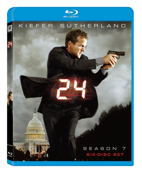 24: Season Seven was released on Blu-Ray on May 19th, 2009.