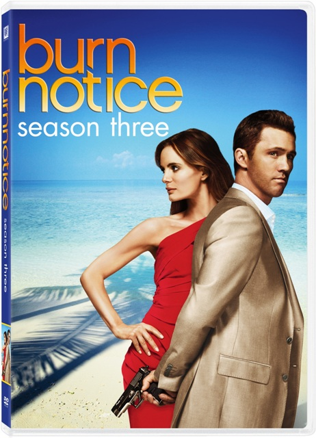 Burn Notice: Season Three was released on DVD on June 1st, 2010