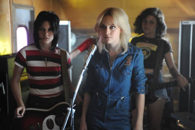 Kristen Stewart, Dakota Fanning and Alia Shawkat star in Floria Sigismondi's The Runaways.