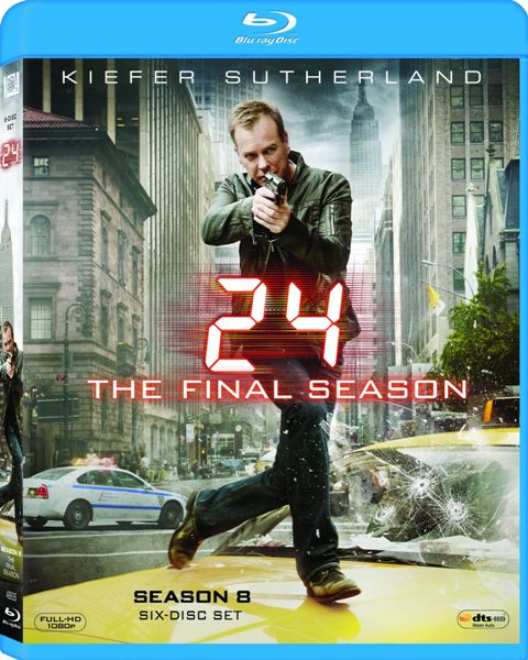 24: Season 8 was released on Blu-ray and DVD on December 14th, 2010