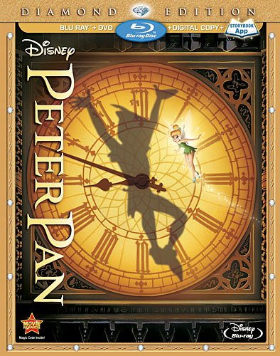 Peter Pan was released on Blu-ray and DVD on February 5, 2013