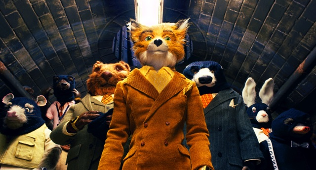 George Clooney voices Roald Dahl's wily titular hero in Wes Anderson's Fantastic Mr. Fox.