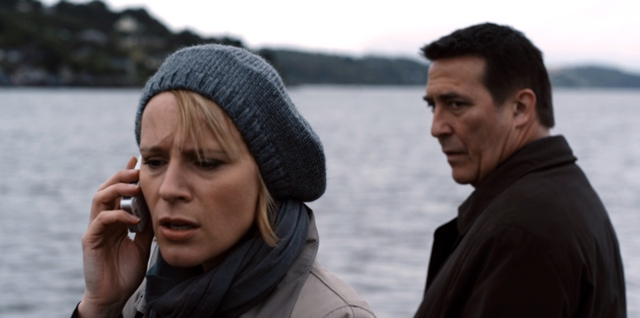 Iben Hjejle and Ciarán Hinds star in Conor McPherson's The Eclipse.