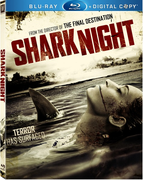Shark Night was released on Blu-ray and DVD on January 3rd, 2012