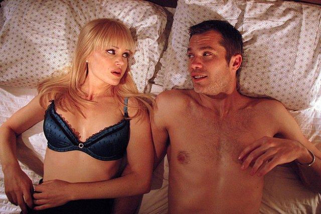 Carla Gugino and Timothy Olyphant star in Sebastian Gutierrez's Elektra Luxx.