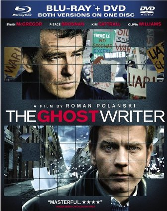 The Ghost Writer was released on Blu-ray and DVD on August 3rd, 2010