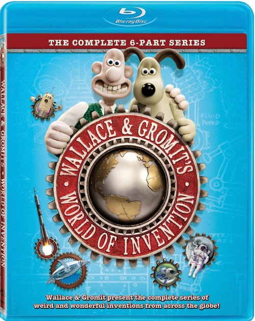 Wallace and Gromit's World of Invention was released on Blu-ray and DVD on March 13, 2012.