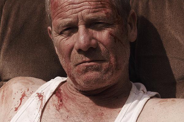 Peter Mullan stars in Paddy Considine's Tyrannosaur.