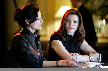 THE GOOD WIFE is a new CBS fall drama starring Emmy Award winner Julianna Margulies as Alicia Florrick (right, with Archie Panjabi).