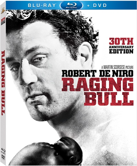 Raging Bull: 30th Anniversary Edition was released on Blu-Ray on January 11th, 2011