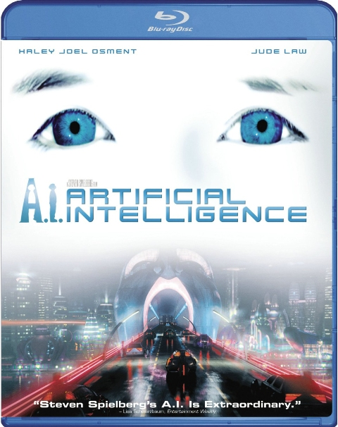 A.I.: Artificial Intelligence was released on Blu-Ray on April 5th, 2011