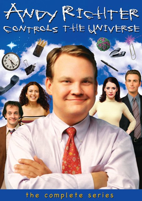Andy Richter Controls the Universe was released on DVD on March 24th, 2009.