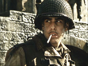 As Pvt. Mellish in 'Saving Private Ryan'