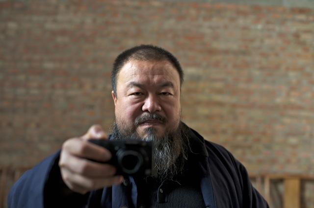 Ai Weiwei in Alison Klayman's Ai Weiwei: Never Sorry.