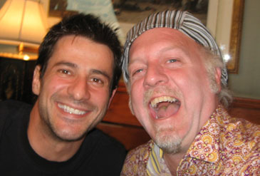 Alexis Georgoulis and Patrick McDonald, in Chicago on June 2nd, 2009