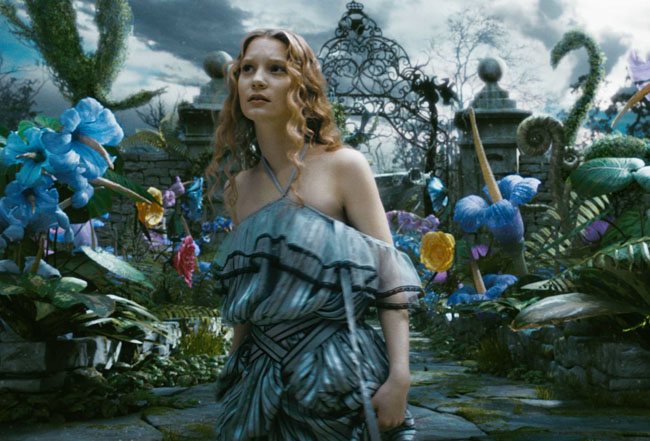 Not in Kansas Anymore: Mia Wasikowska as Alice in 'Alice in Wonderland'