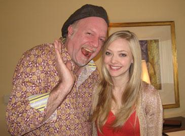Patrick McDonald and Amanda Seyfried, January 28, 2010