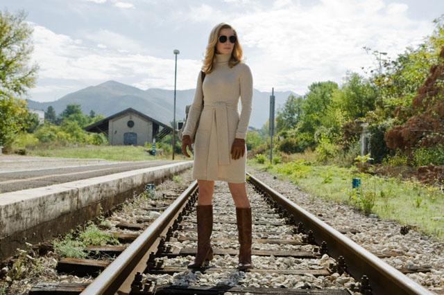 Femme Fatale: Thekla Reuten as Mathilde in 'The American'