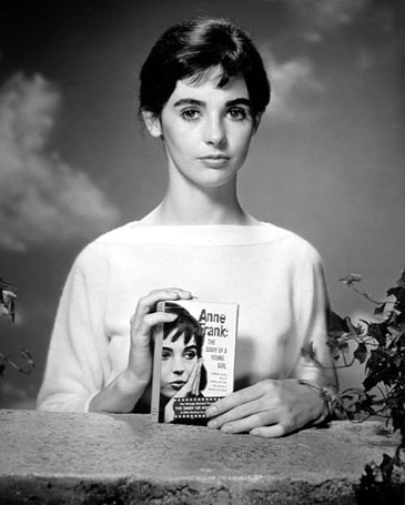 Millie Perkins in an Anne Frank Publicity Photo