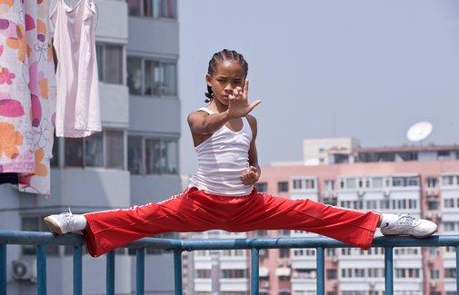Jaden Smith stars in Harald Zwart's remake of The Karate Kid.