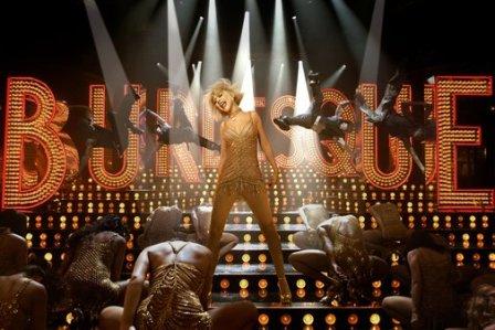 Christina Aguilera misfires in Steve Antin's Burlesque.