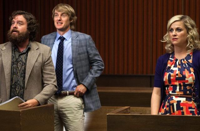 Zach Galifianakis, Owen Wilson, Amy Poehler