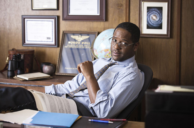 He Has Principles: Blair Underwood as Principal Martinson in 'The Art of Getting By'
