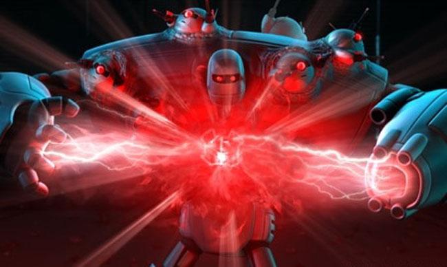 Weapon of Mass Robotics: Scene from 'Astro Boy'