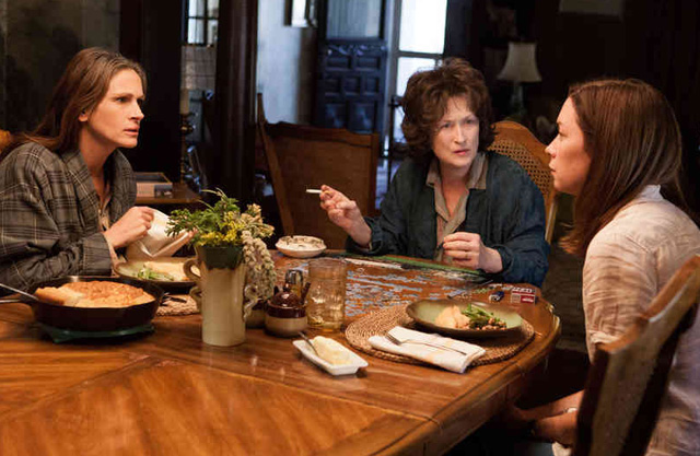 Julia Roberts, Julianne Nicholson, Meryl Streep