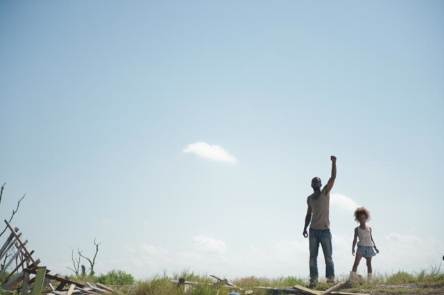 Dwight Henry and Quvenzhané Wallis star in Benh Zeitlin's Beasts of the Southern Wild.