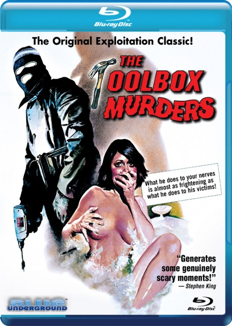 The Toolbox Murders was released on Blu-ray on January 26th, 2010.