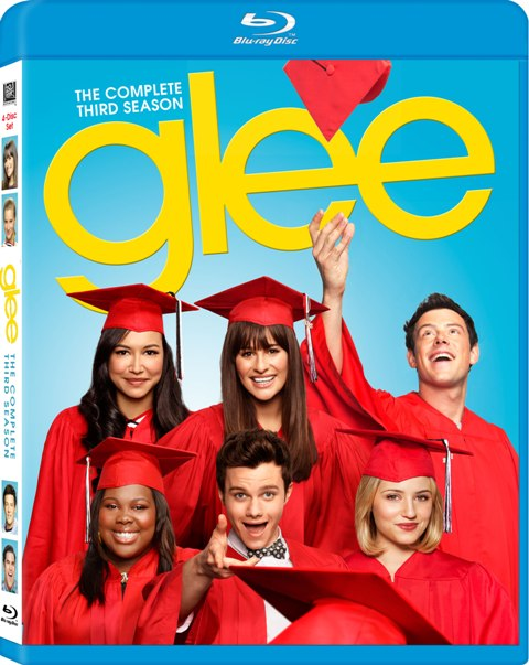 Glee: The Complete Third Season was released on Blu-ray and DVD on August 14, 2012