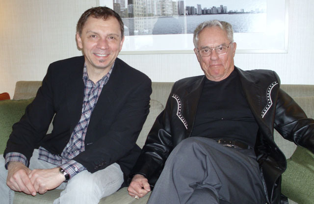 Men of Bambi: Animator Andreas Deja (left) and Voice Talent Donnie Dunagan in Chicago, February 22nd, 2011