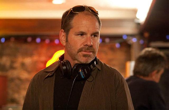 Director Richard J. Lewis on the set of 'Barney's Version'