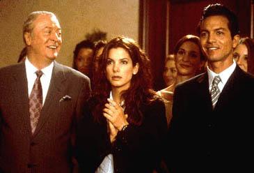 Michael Caine, Sandra Bullock and Benjamin Bratt in 'Miss Congeniality'