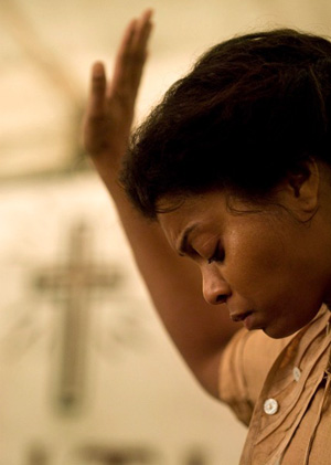 Taraji P. Henson stars as Queenie in The Curious Case of Benjamin Button