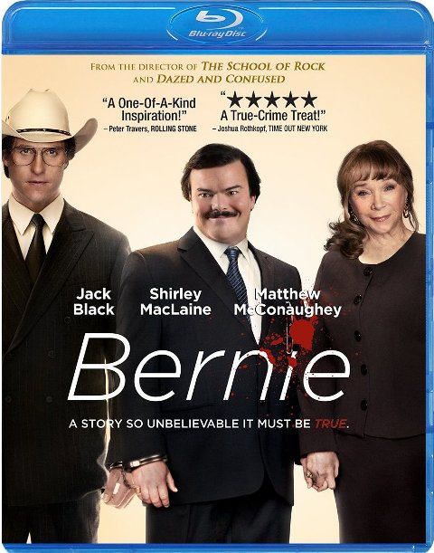 Bernie was released on Blu-ray and DVD on August 21, 2012