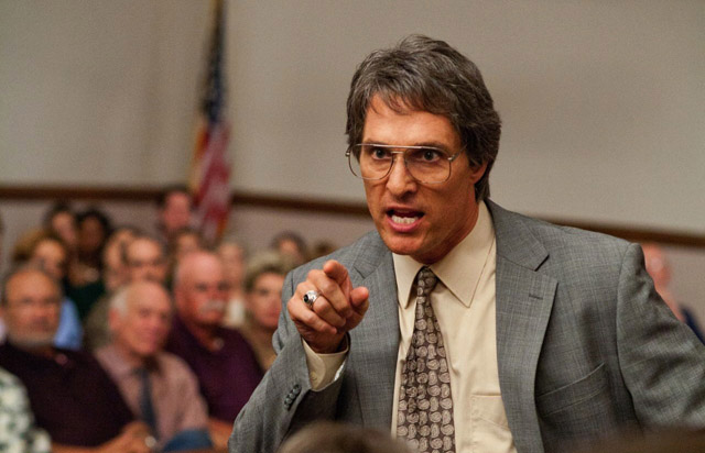 Matthew McConaughey (Danny Buck Davidson) Makes his Point in 'Bernie'