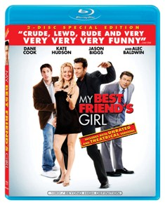 My Best Friend's Girl was released by Lionsgate on January 13th, 2009.