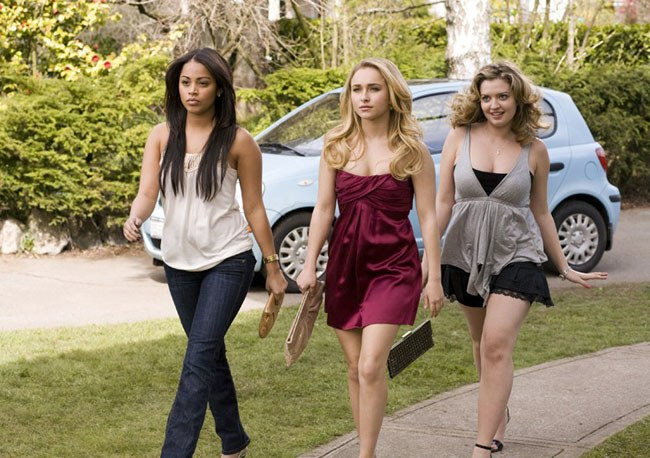 Entourage: Lauren London, Hayden Panettiere and Lauren Storm in 'I Love You, Beth Cooper'