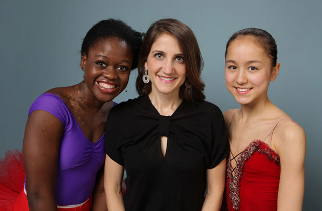 Michaela Deprince, Filmmaker Beth Kargman and Miko Forgarty in 'First Position'