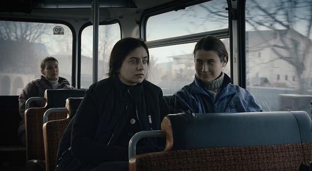 Cosmina Stratan and Cristina Flutur star in Cristian Mungiu's Beyond the Hills.
