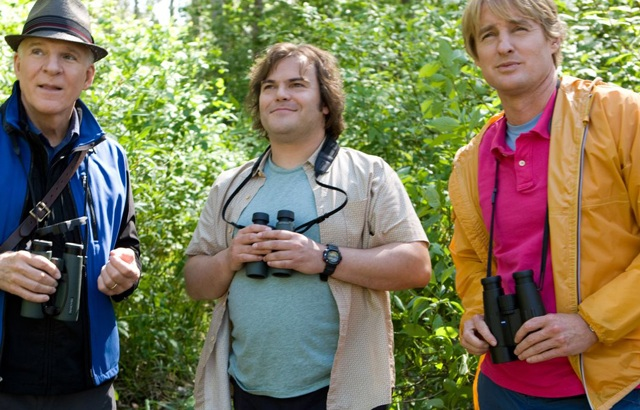 Steve Martin as Stu, Jack Black as Brad and Owen Wilson as Kenny in 'The Big Year'