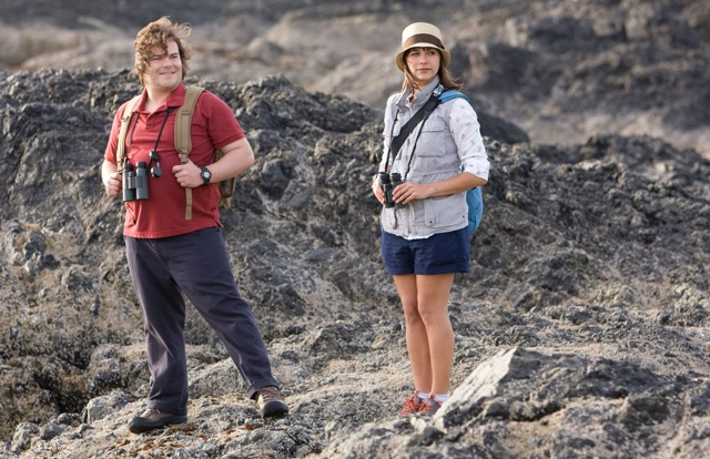 Jack Black and Rashida Jones as Ellie in 'The Big Year'