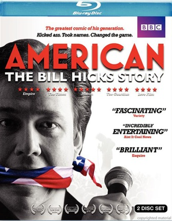 American: The Bill Hicks Story was released on Blu-Ray and DVD on June 7, 2011.