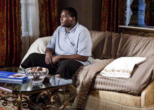 Stranger in a Strange Land: Quinton Aaron as Michael Ohr in 'The Blind Side'