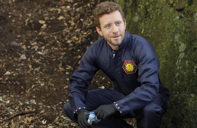 On the Case: T.J. Thyne at the Scene in 'Bones'