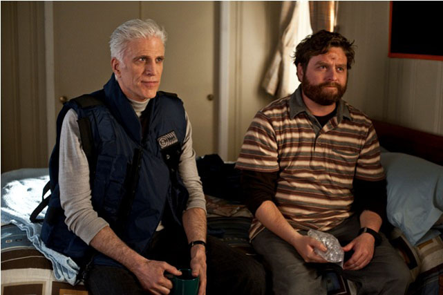 Bored To Death Tv Review Zach Galifianakis Ted Danson And Jason Schwartzman In Second Year Hbo Bored To Death Tv Review
