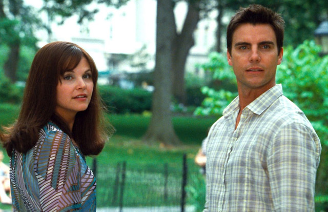 Together but Separate: Ginnifer Goodwin (Rachel) and Colin Egglesfield (Dex) in 'Something Borrowed'